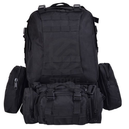 Рюкзак 50L Molle Assault Tactical Light Version 55x35x25cm Black