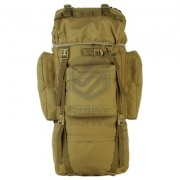 Рюкзак 110L Molle Rucksack Military Hiking Camping Tan