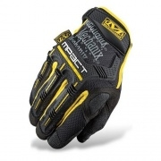 Перчатки Mechanix M-Pact реплика Yellow/Black  размер XL