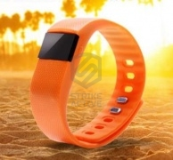 Гаджет спортивный часы TW64 Bluetooth Smart Fitness Bracelet  ORANGE