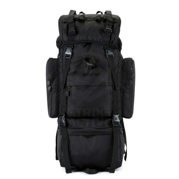 Рюкзак 110L Molle Rucksack Military Hiking Camping Black